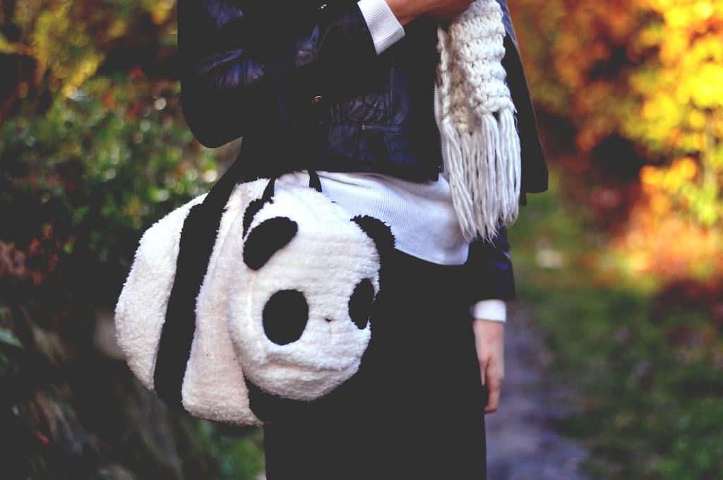 OUTFIT | Herbstlook mit Pandatasche