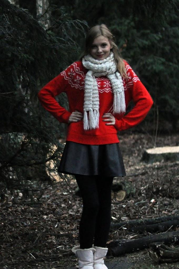 Weihnachtlicher Pullover