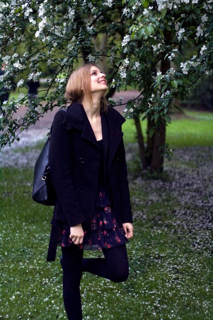 Frühlingsgefühle und Blümchenrock