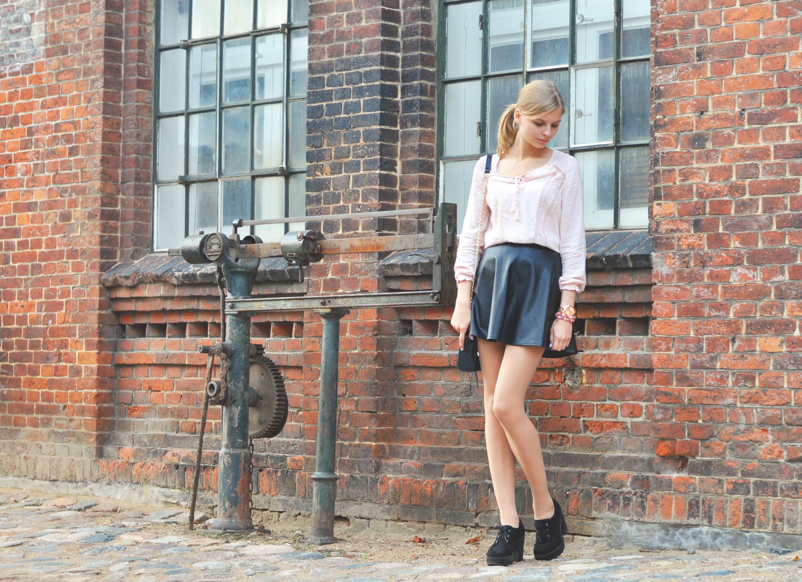 OUTFIT | Ein weiterer Look mit meinem Lederrock