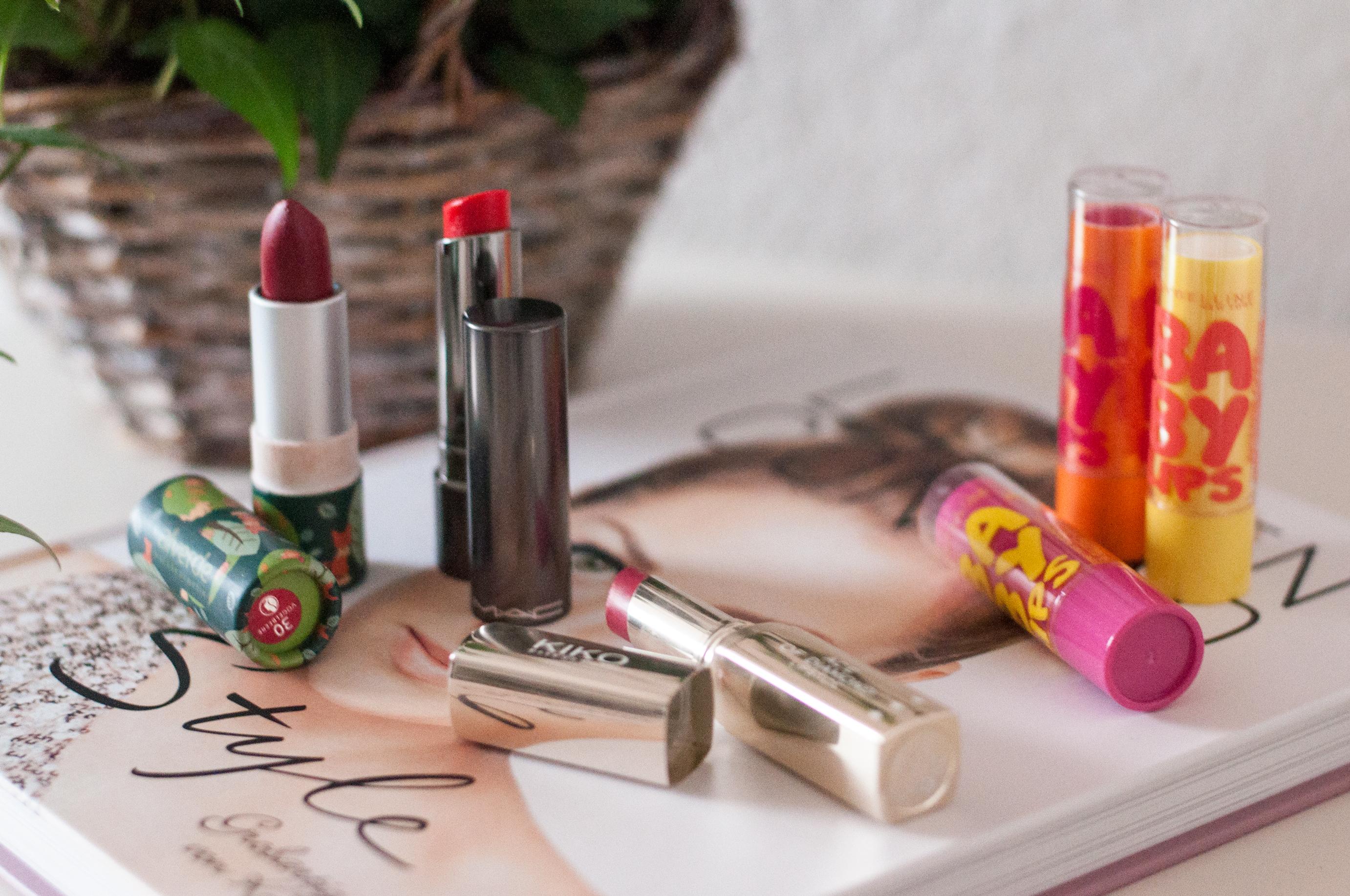 Jahresfavoriten Lippenstifte
