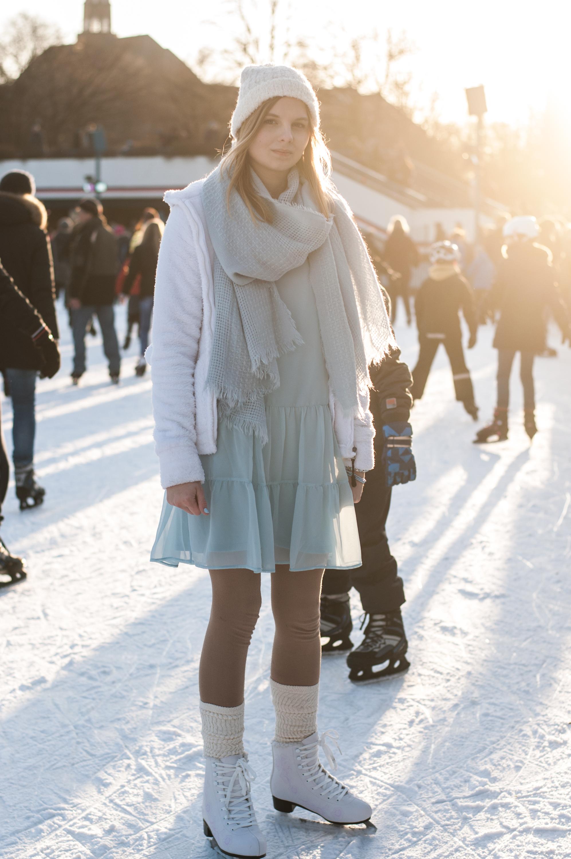 Outfit Schlittschuhlaufen in Hamburg