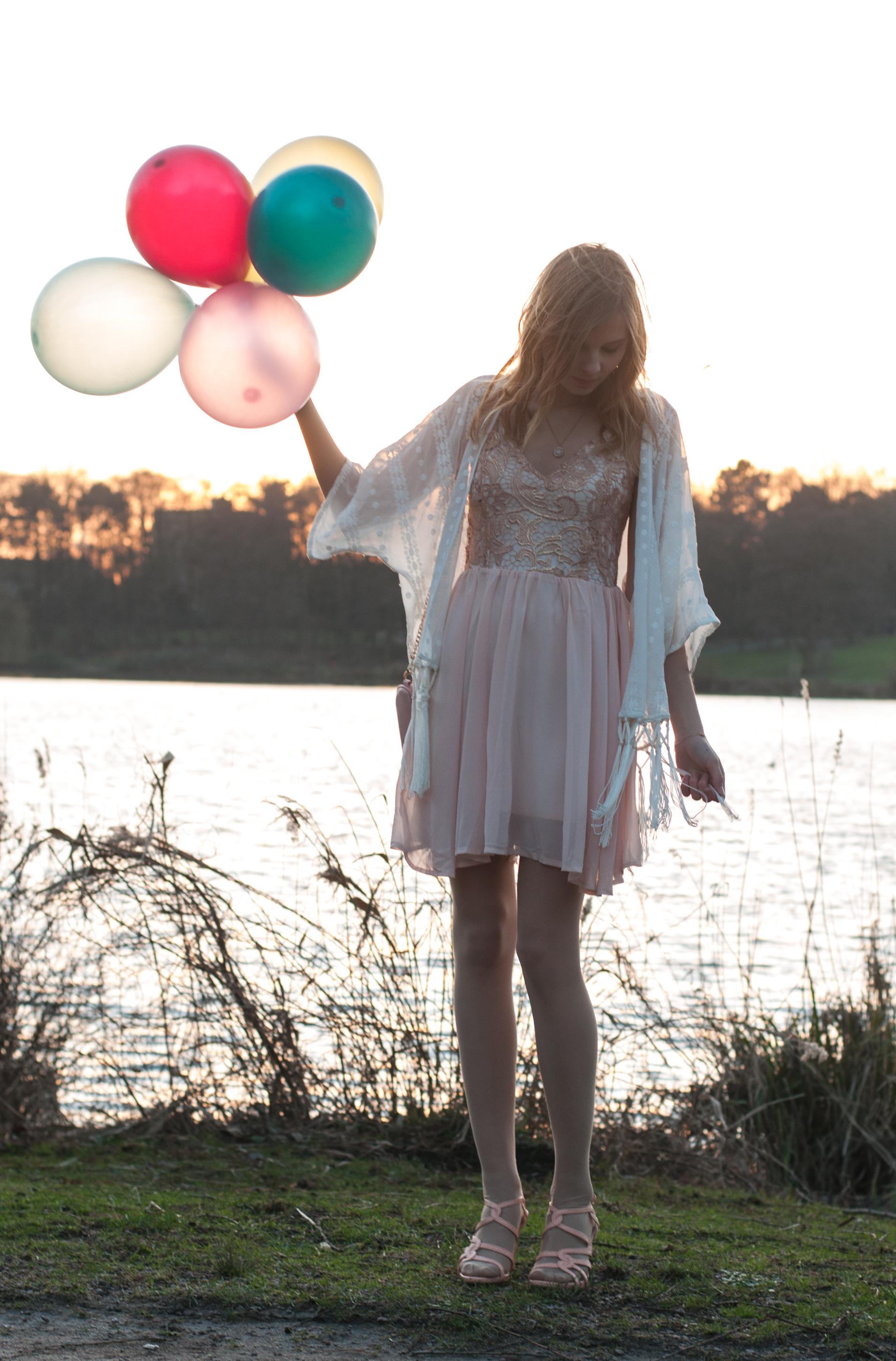 rosa Kleid Geburtstag