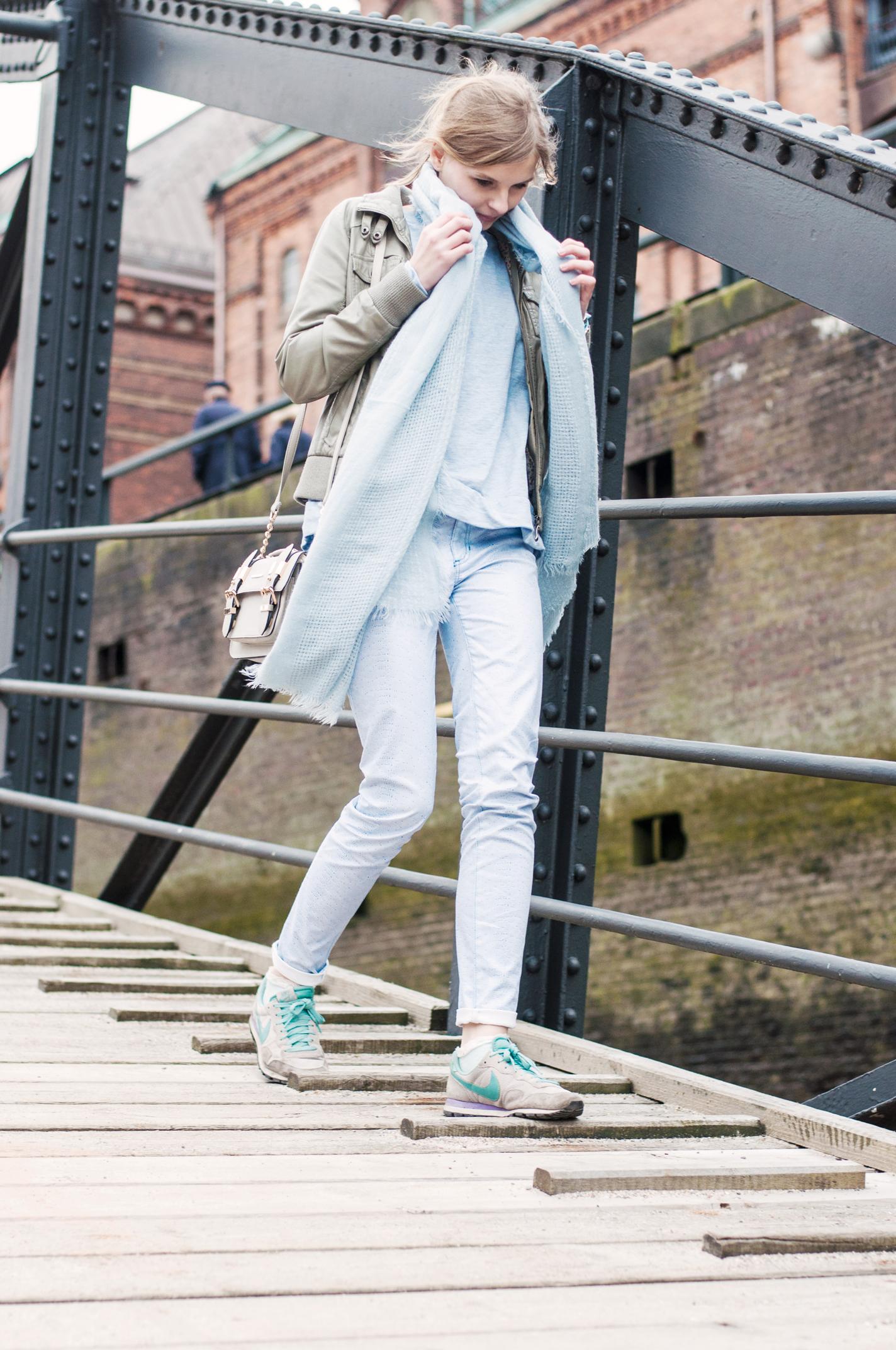 lässiges Outfit Hamburg