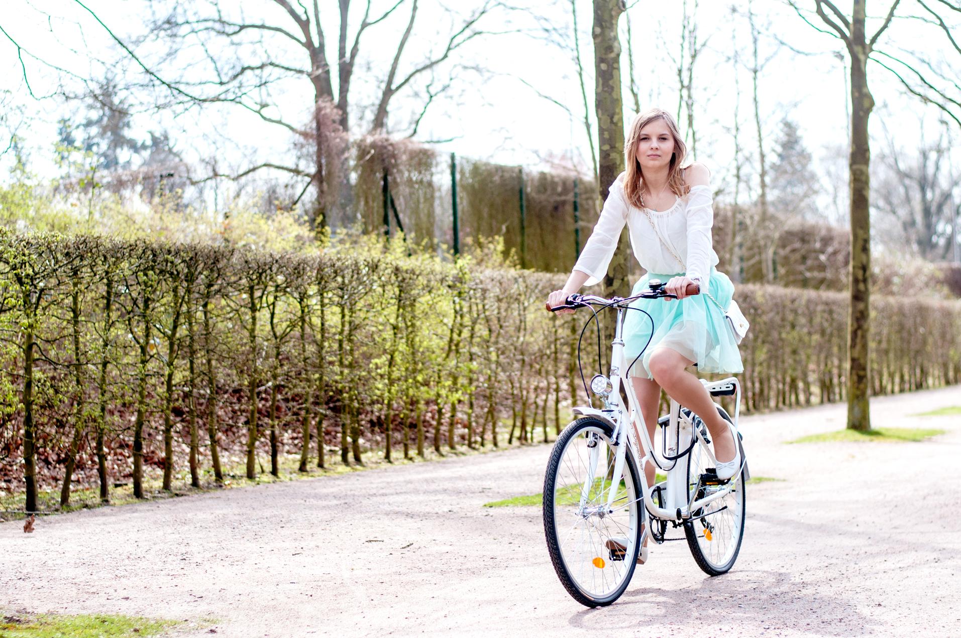 Fahrrad fahren Frühling