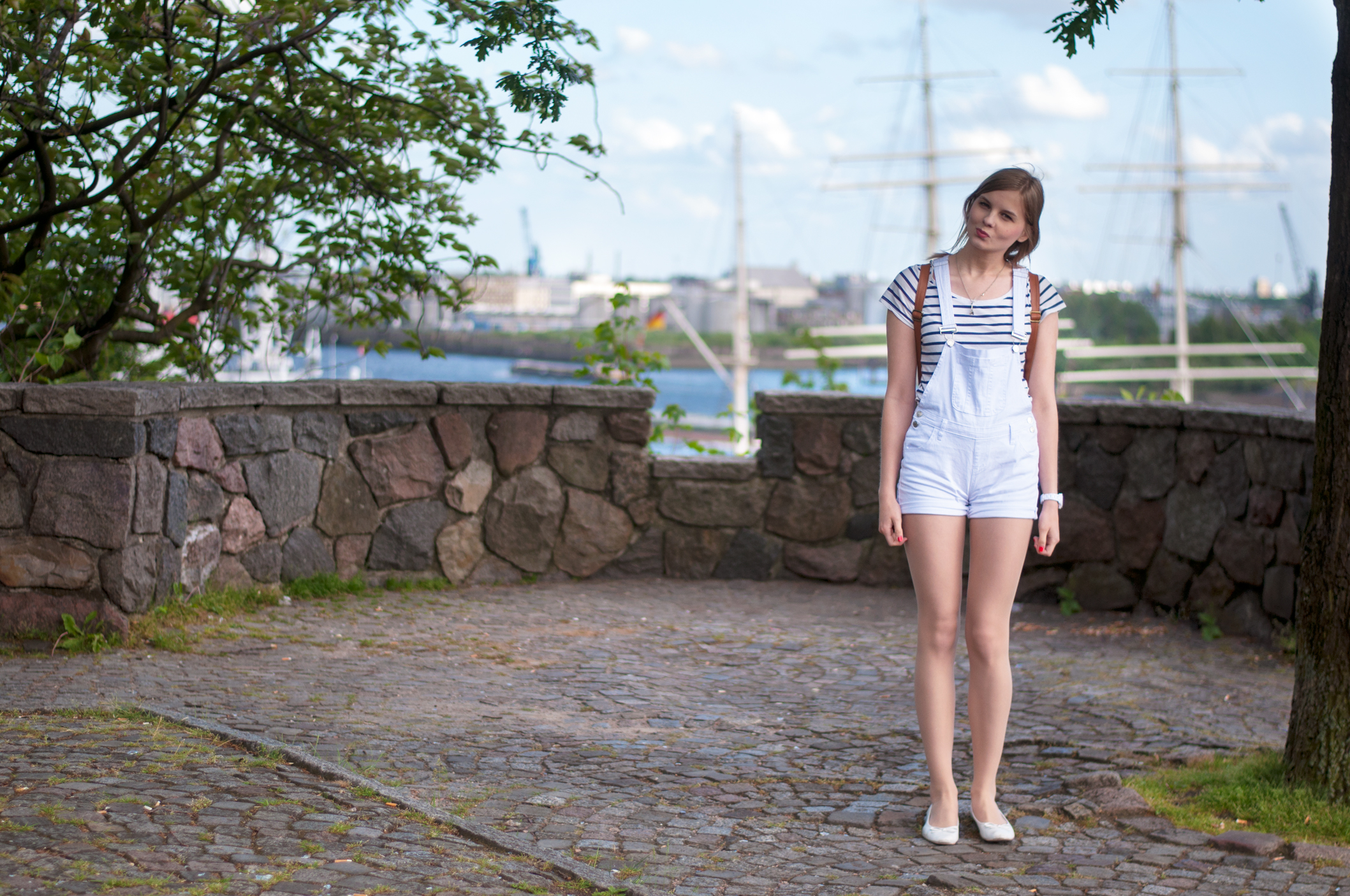 maritimes Outfit Hamburg