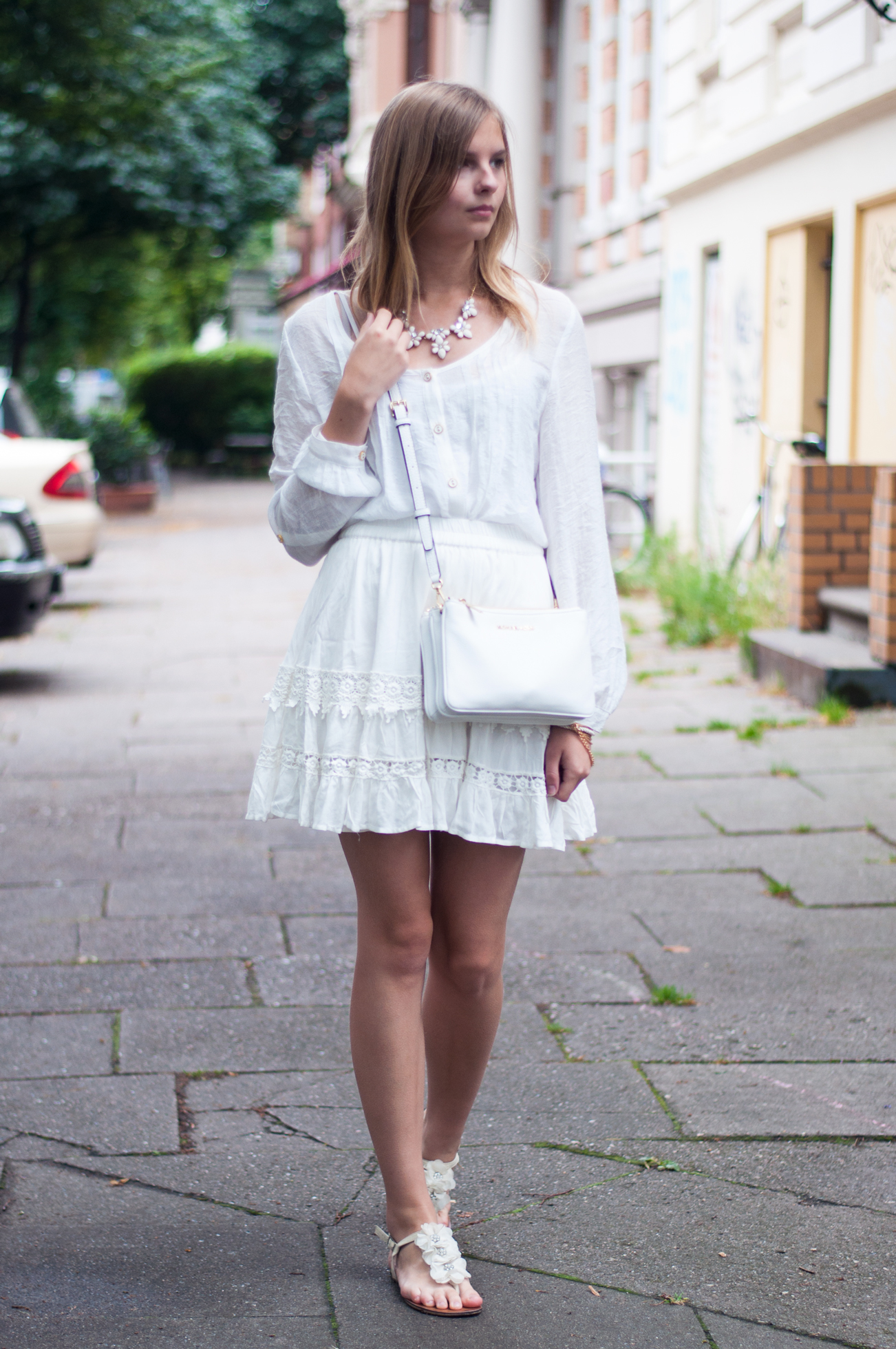 OUTFIT | All White auf der Fashion Week