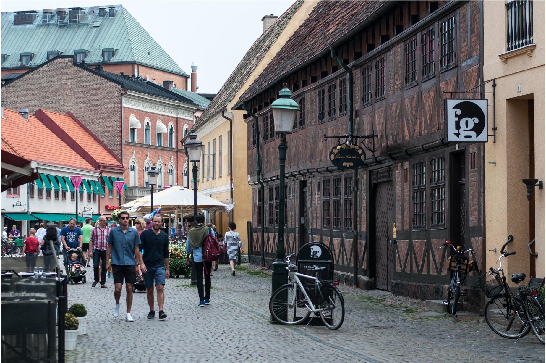 Route Radtour Schweden
