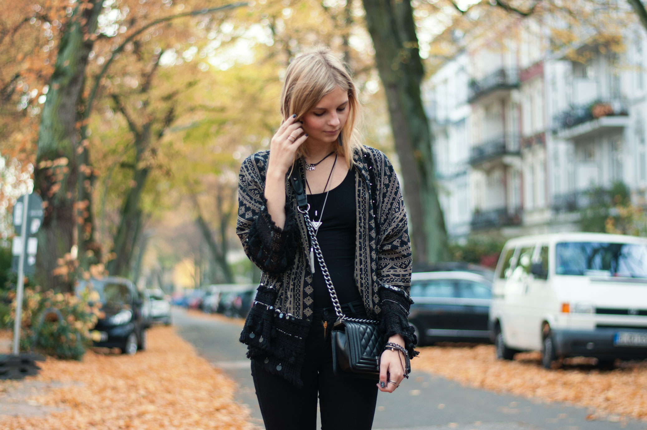 OUTFIT | All Black im Herbst