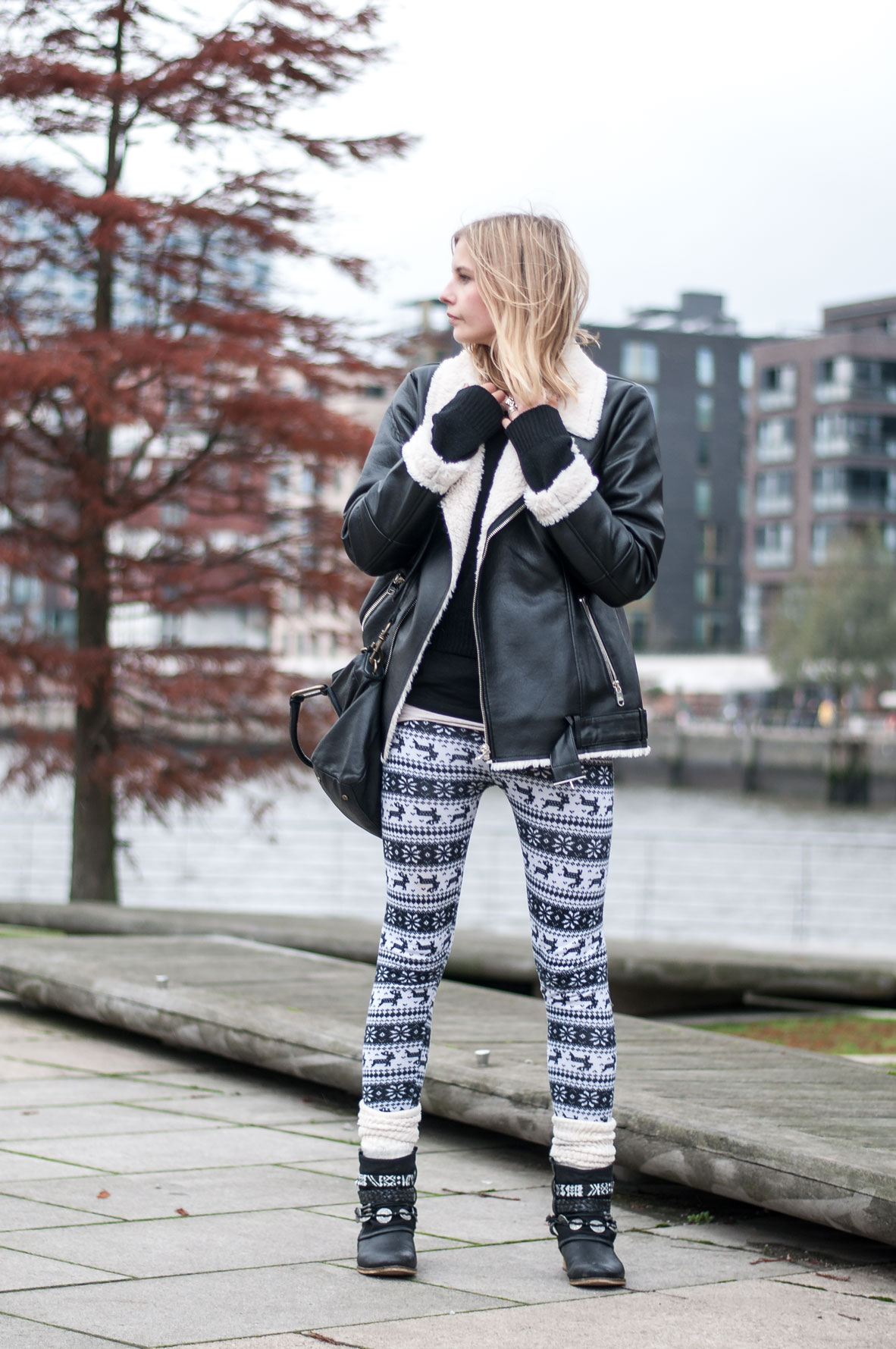 OUTFIT | Rentierleggings