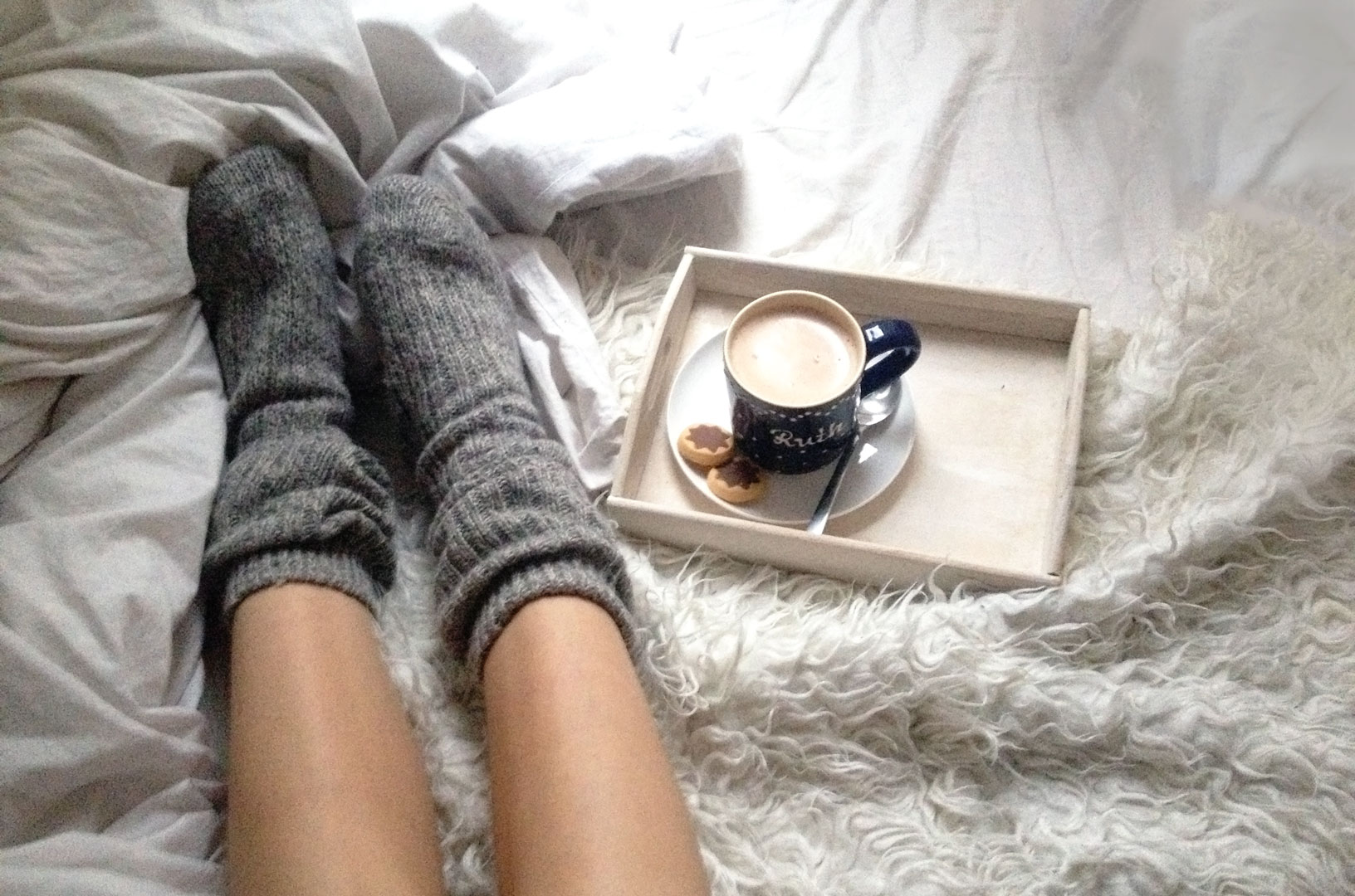 Im Winter warm halten