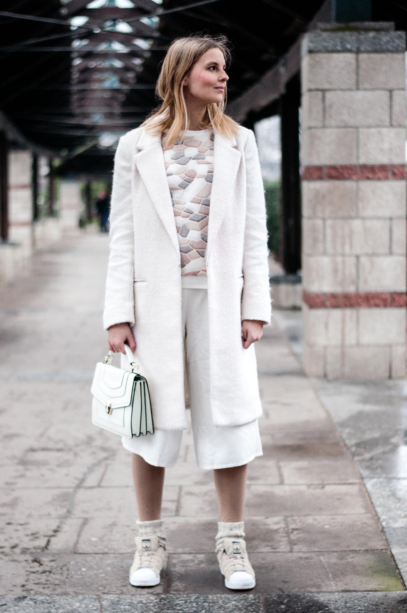 OUTFIT | Die weiße Culotte