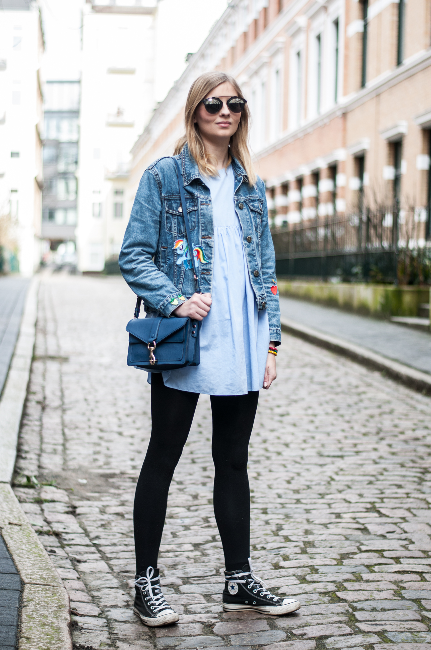 OUTFIT | Jeansjacke mit Patches