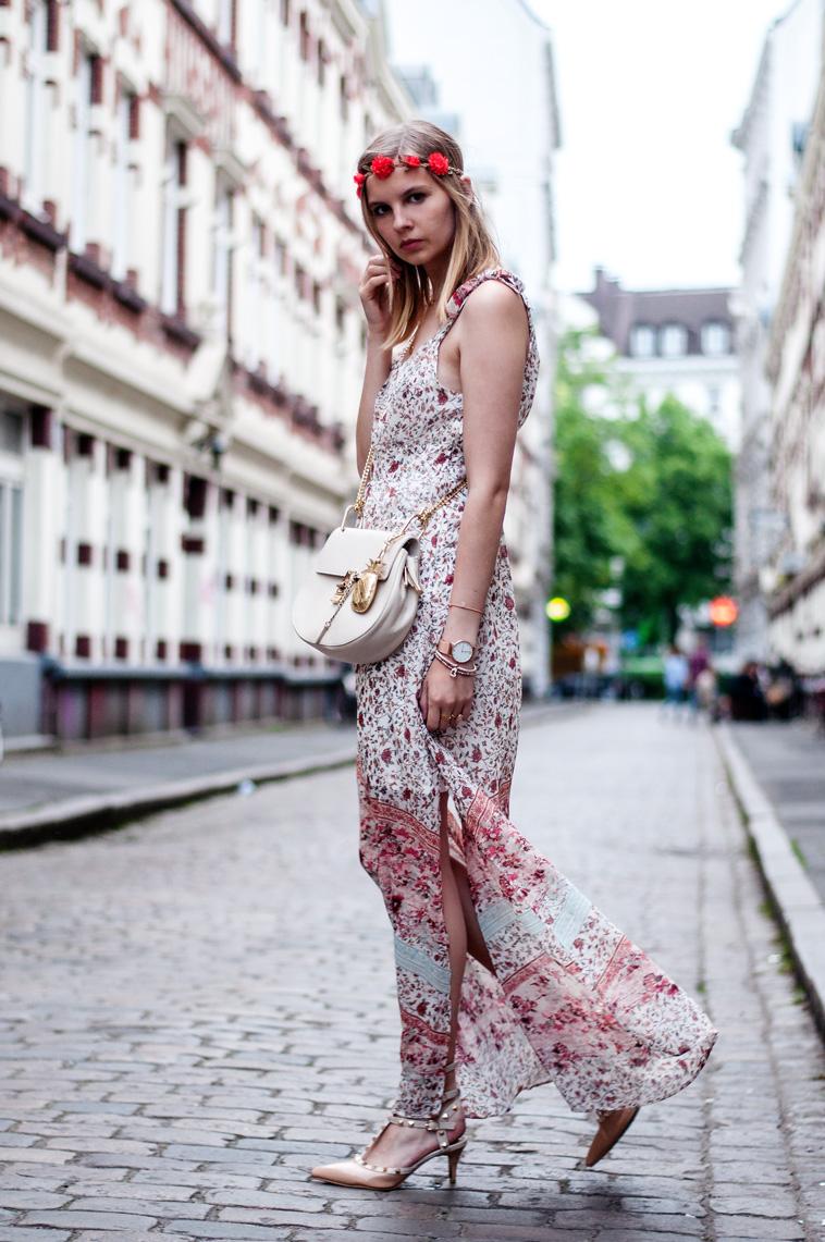 Blumenkleid Orsay
