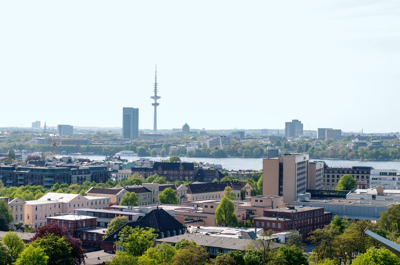 Dachterasse Hamburg