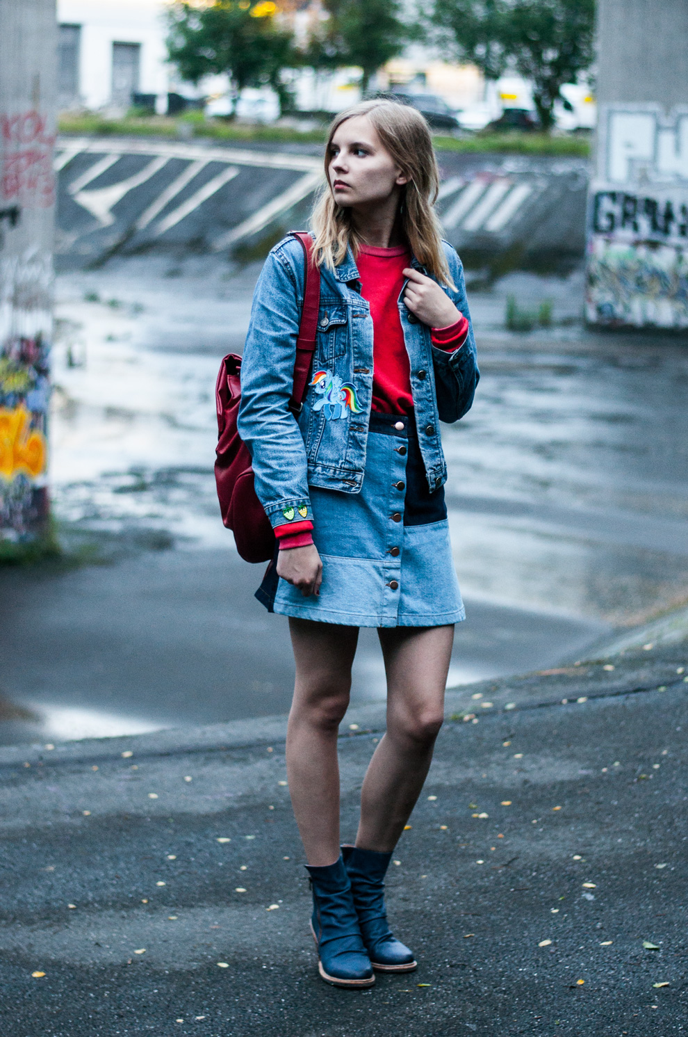 OUTFIT | Patchwork-Rock