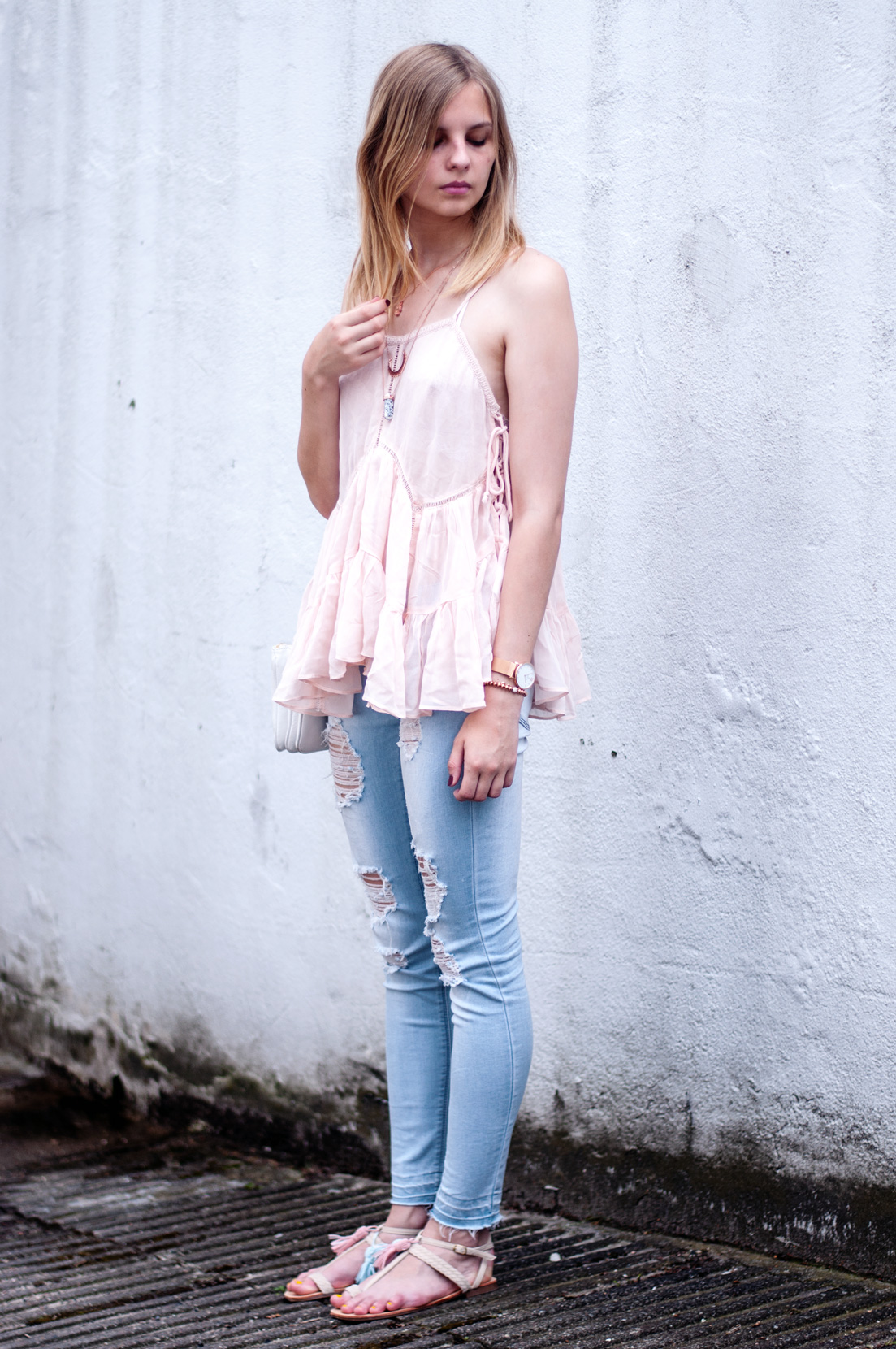 OUTFIT | Rosa Festival-Camisole