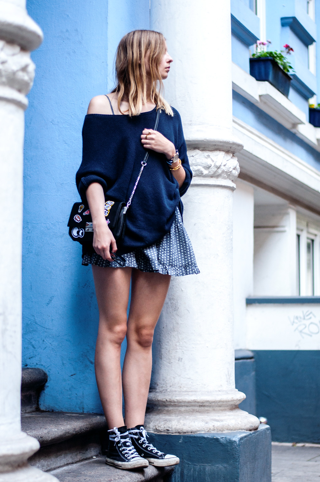 OUTFIT | Volantkleid
