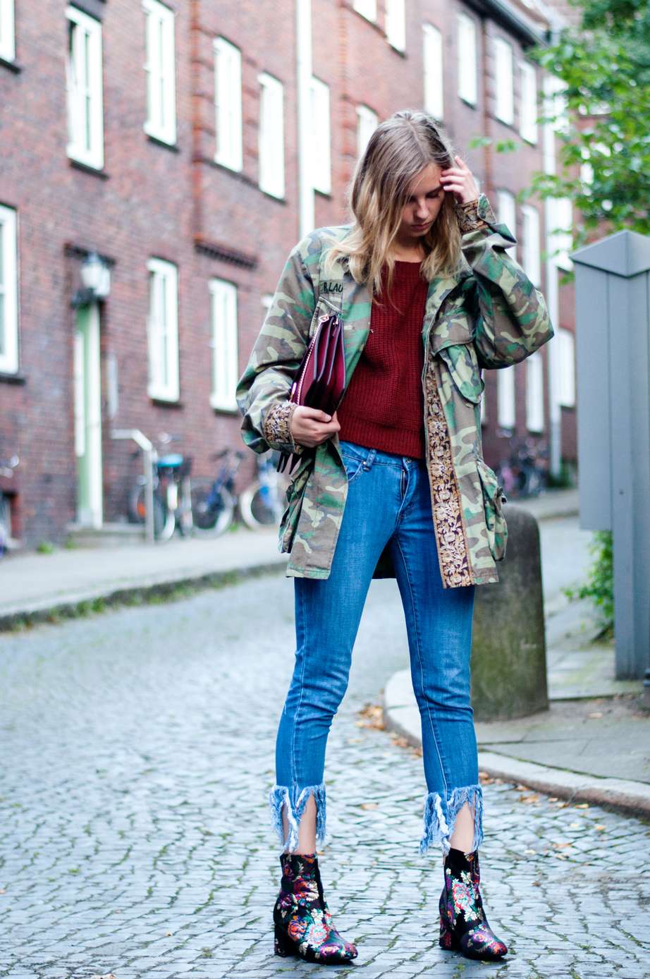 OUTFIT | Camouflage Jacke
