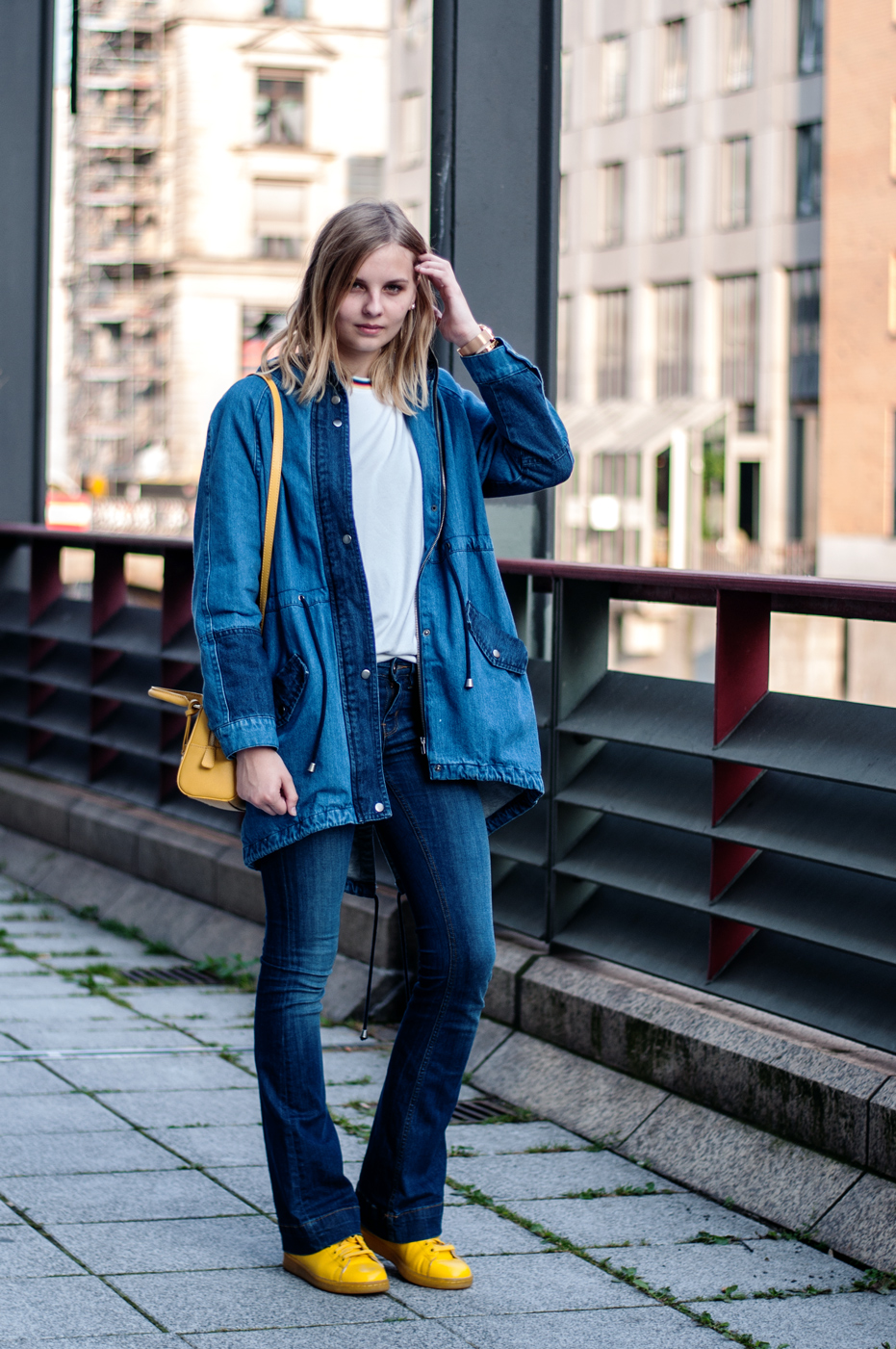 Jeans-Parka