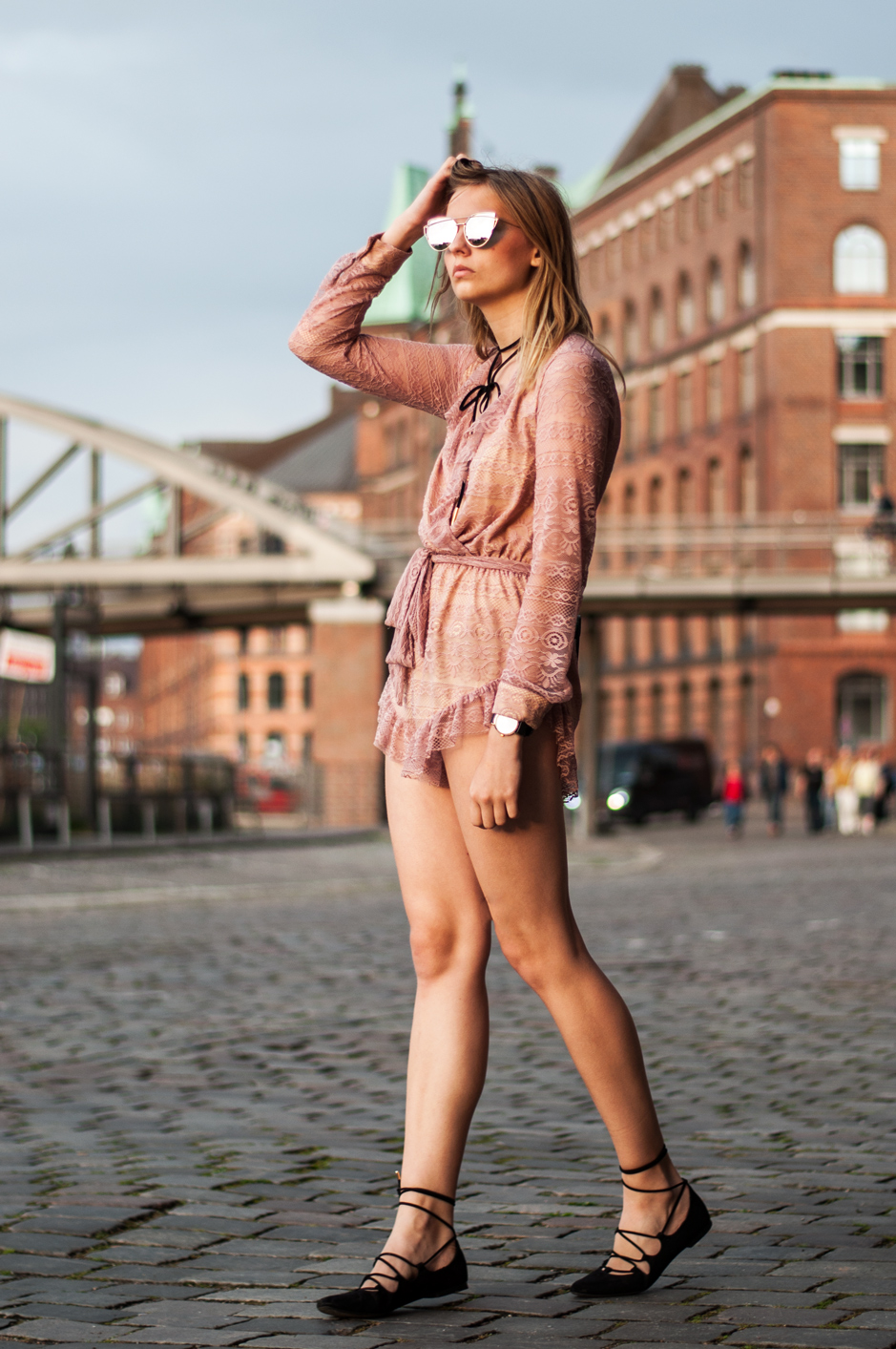 OUTFIT | Rosa Playsuit