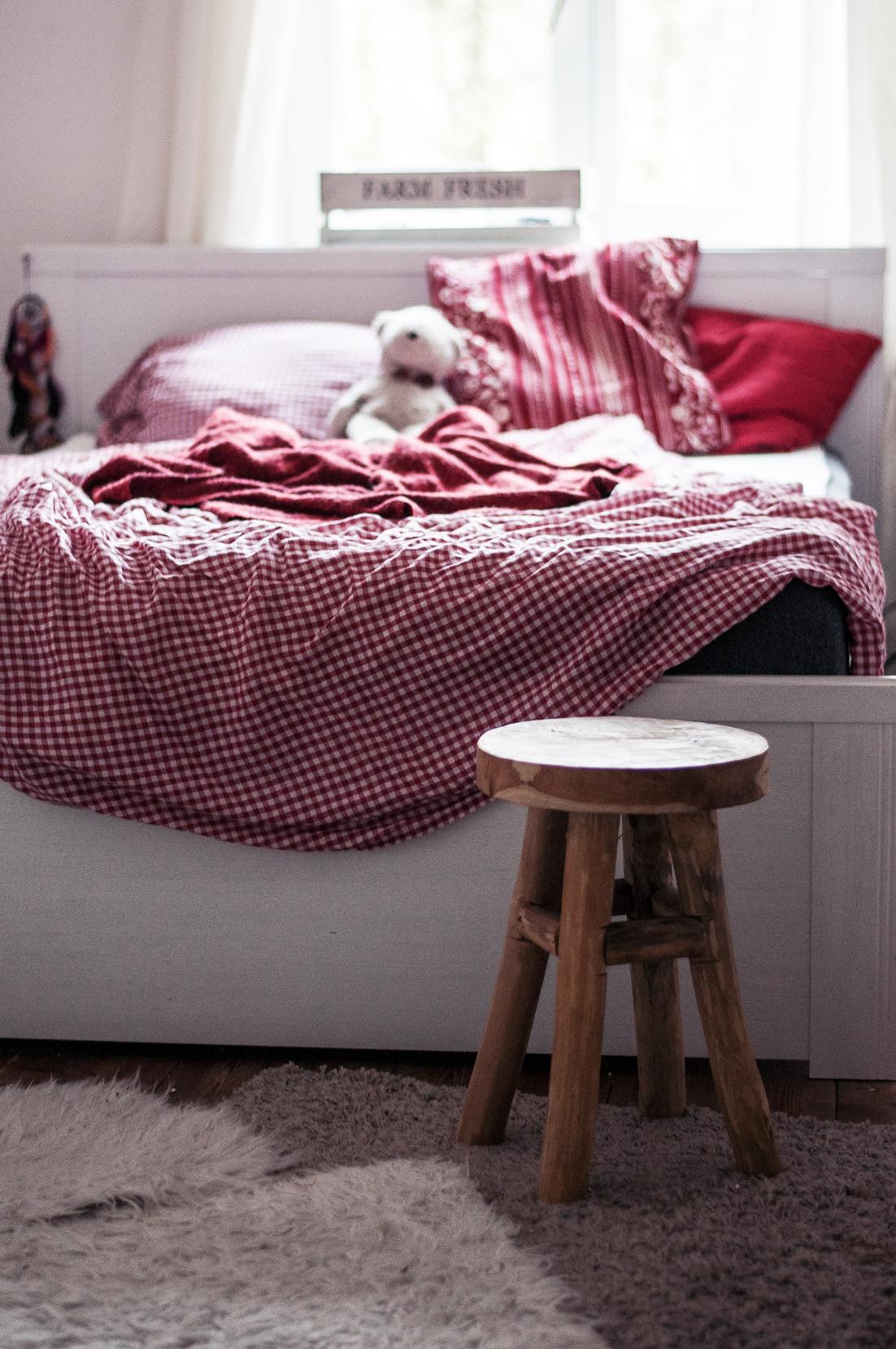 wohnen unser schlafzimmer die emma matratze strawberry pie. Black Bedroom Furniture Sets. Home Design Ideas