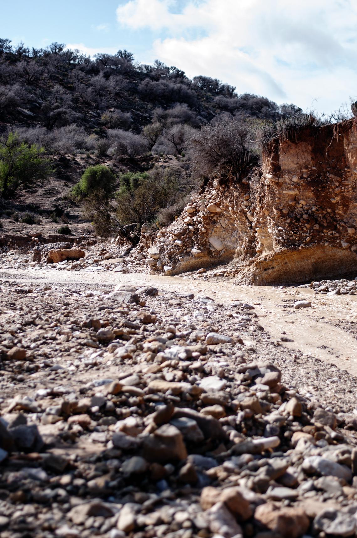 Flusslauf Marokko