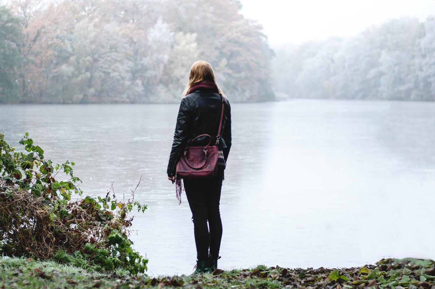 Herbstspaziergang Winter Bramfelder See