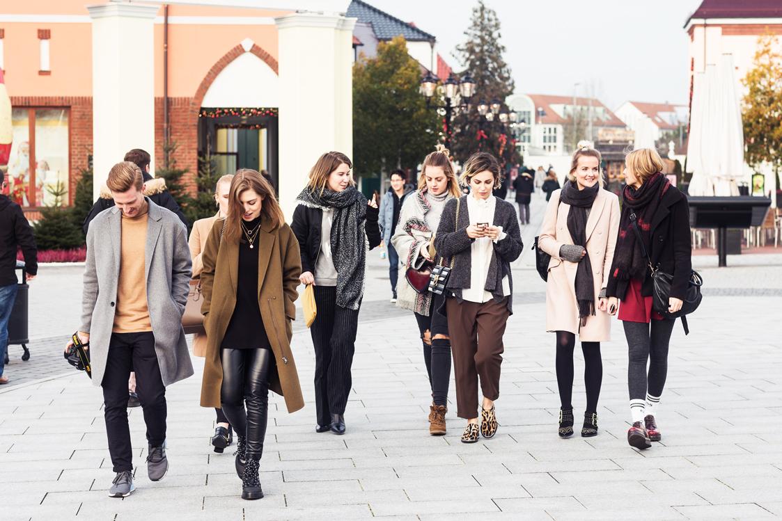 Shopping im Designeroutlet