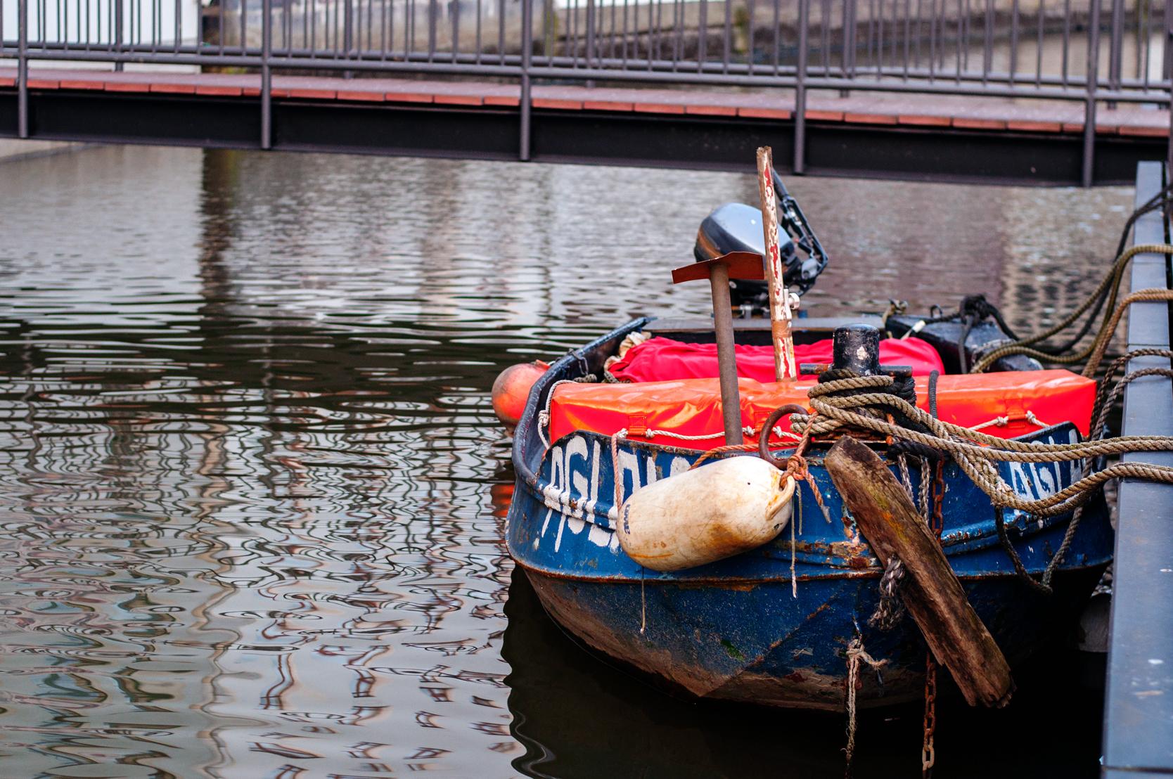 Boot Hamburg Speicherstadt