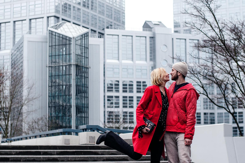 Verliebtes Paar Hamburg Ralph Lauren