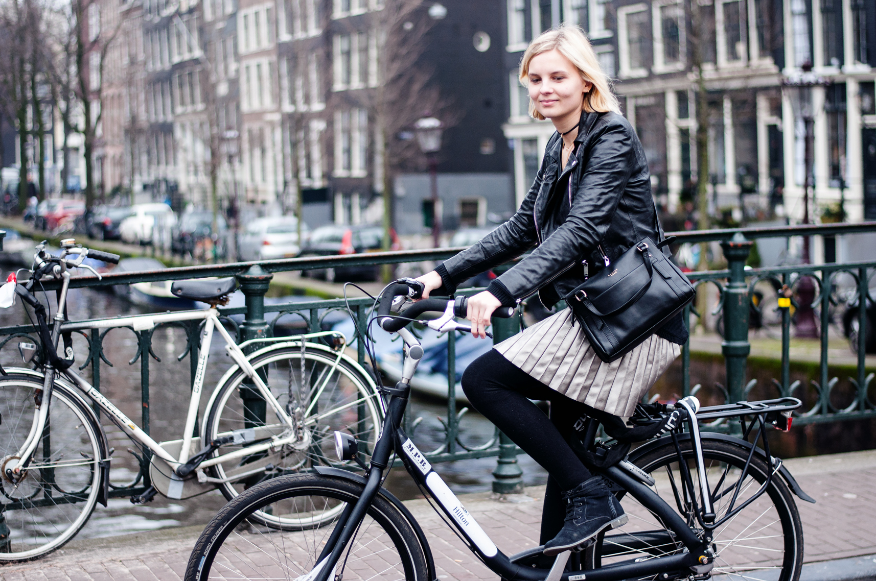 Fahrrad fahren Amsterdam