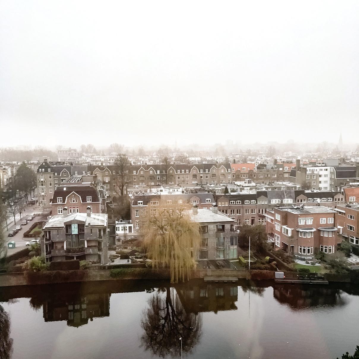 Ausblick Hilton Amsterdam
