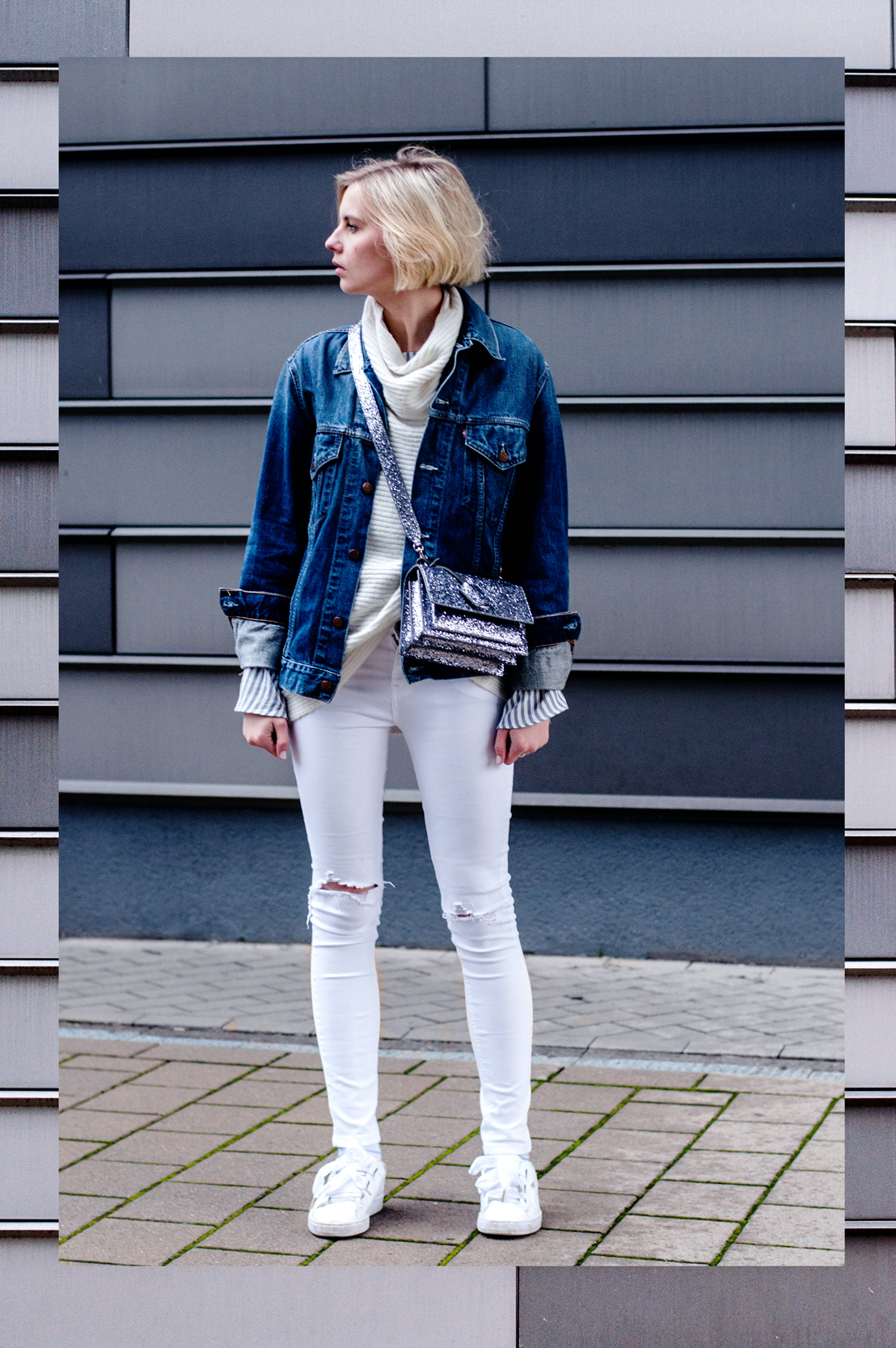 OUTFIT | Jeansjacke im Winter