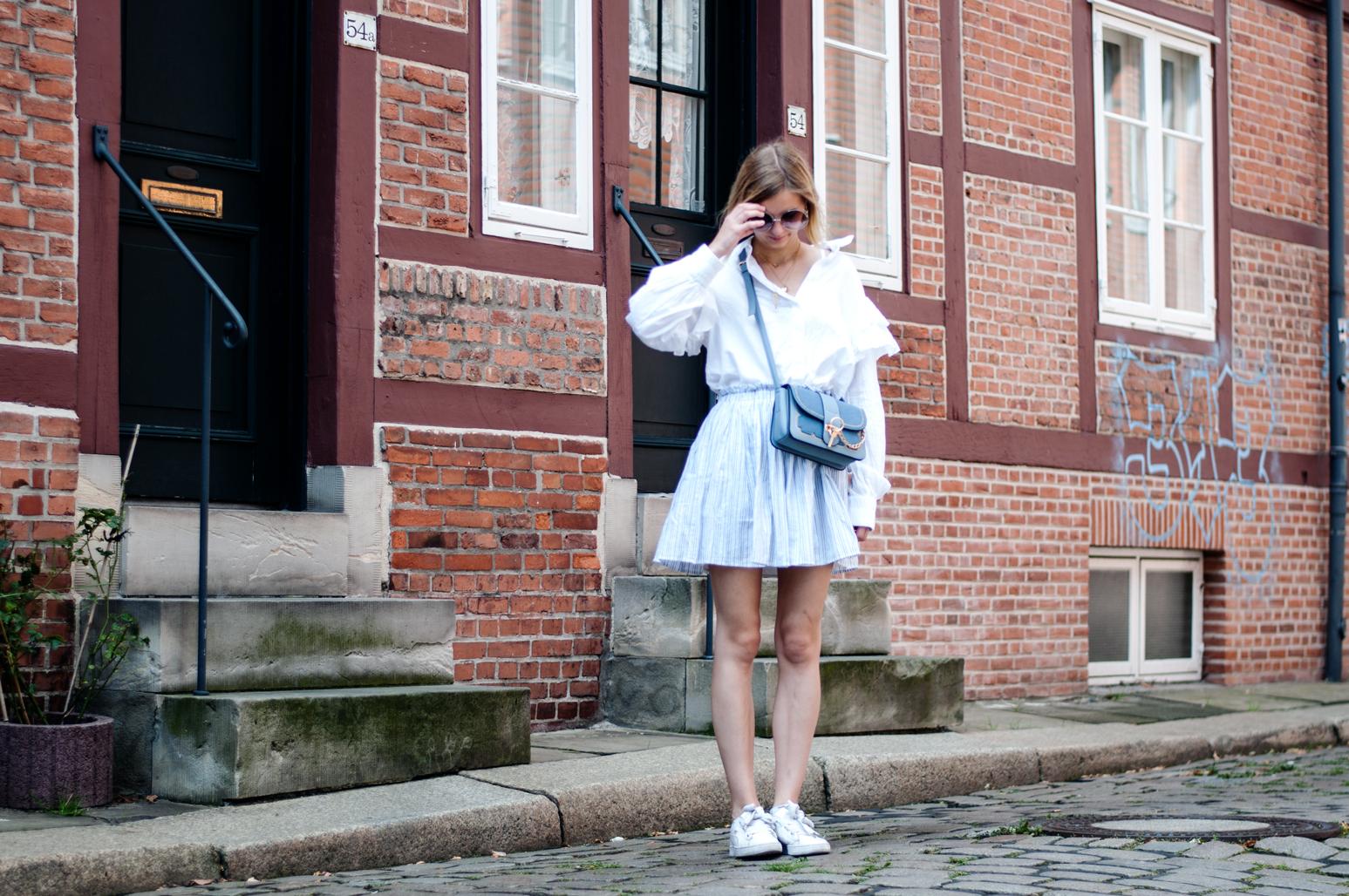 Sommerliches Outfit Hamburg Gängeviertel