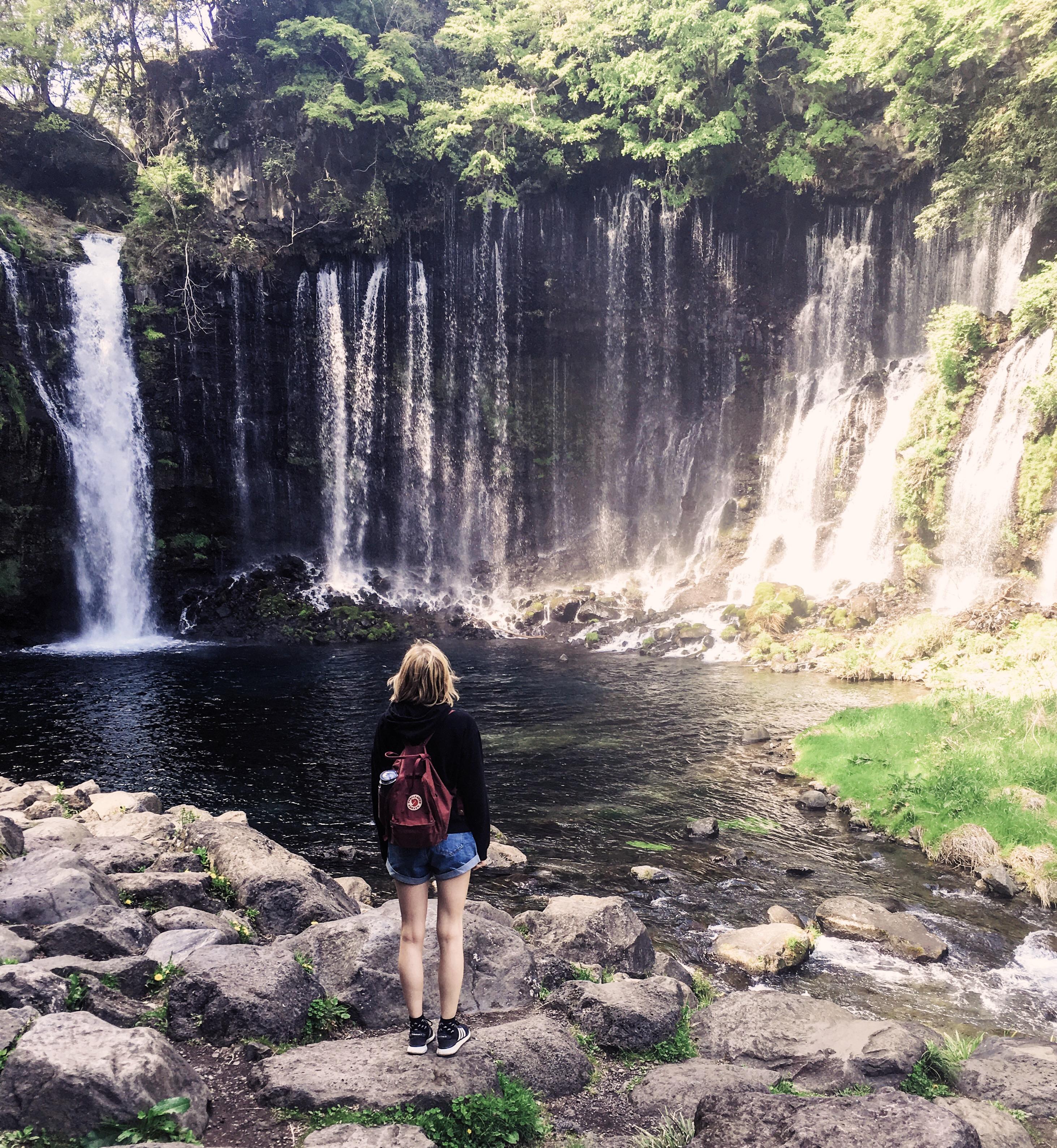 Shizuoka Shiraito-no-taki Wasserfälle
