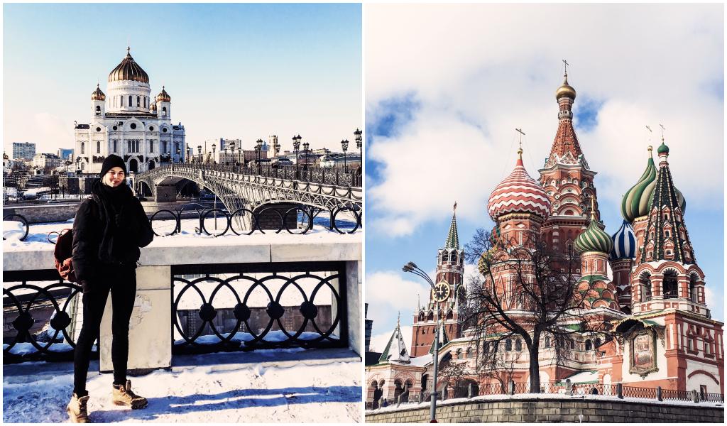 Moskau Basilii Cathedrale