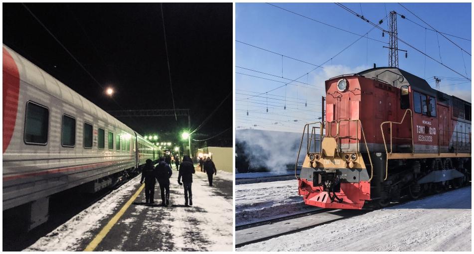 Eisenbahn Transsib