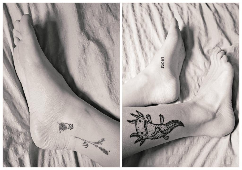 Fuß Tattoos